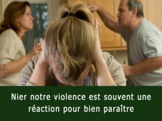 Nier la violence