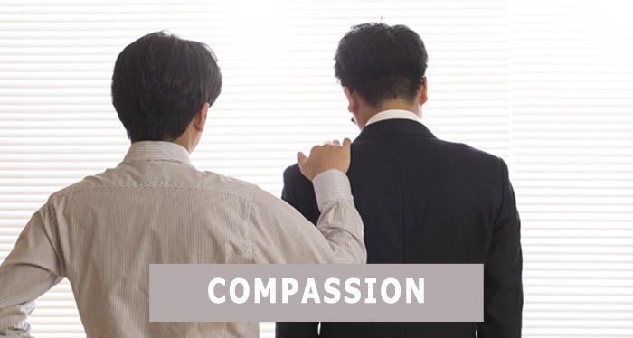 Ayez de la compassion dans votre entreprise